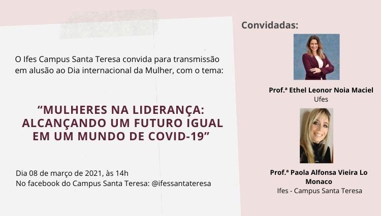 Campus Santa Teresa promove evento em alusão ao Dia Internacional da Mulher